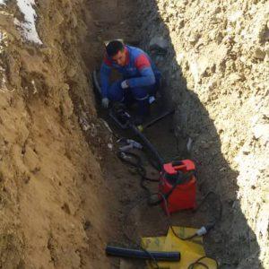تزریق گاز شبکه روستای قره باطر علیا